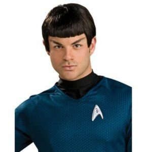 Mr. Spock Halloween Wig Star Trek Costume